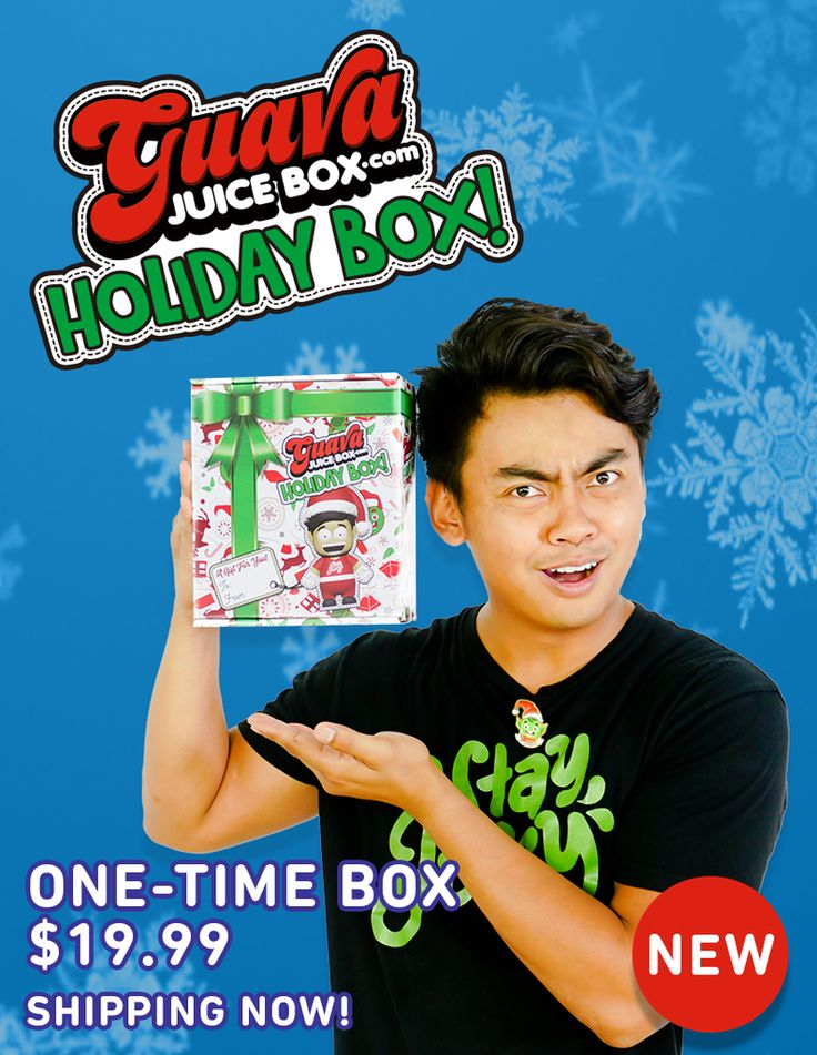 Guava Juice Holiday Box (With images) Guava