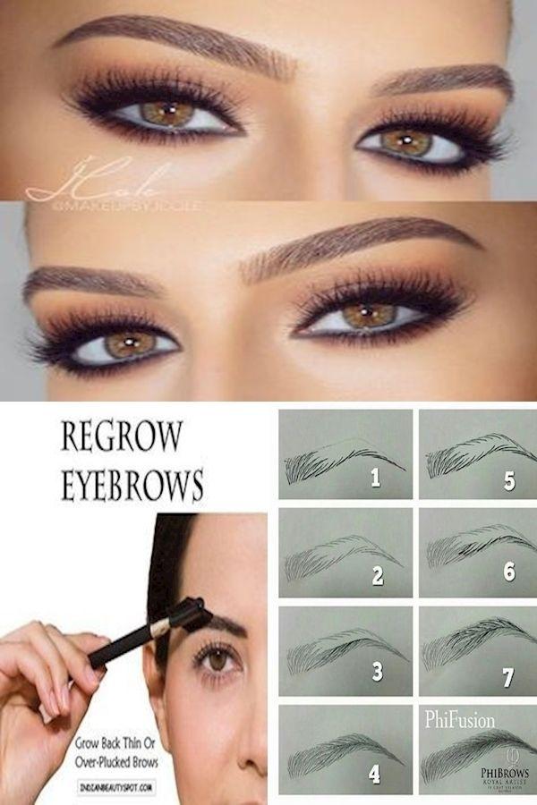 Thick Eyebrows | Doing Eyebrow Makeup | What Is Eyebrow ...