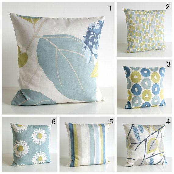 Scandinavian Pillow Sham 18 Inch Pillow Cover 18x18 by CoupleHome