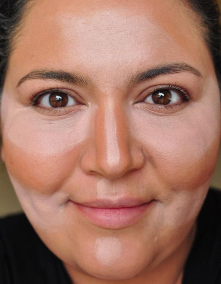 How to Contour & Highlight your face: this is a great step-by-step!
