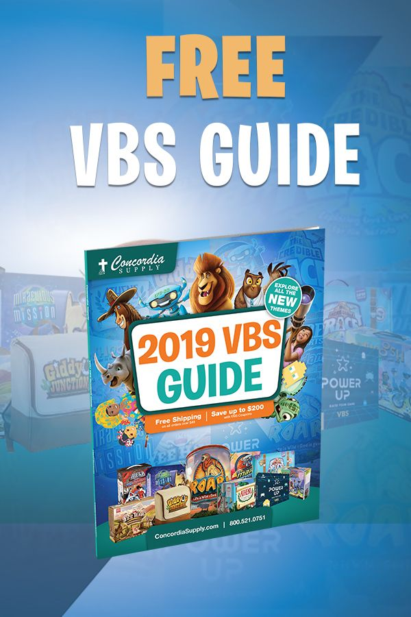 The Concordia Supply 2019 VBS Guide is your ultimate info