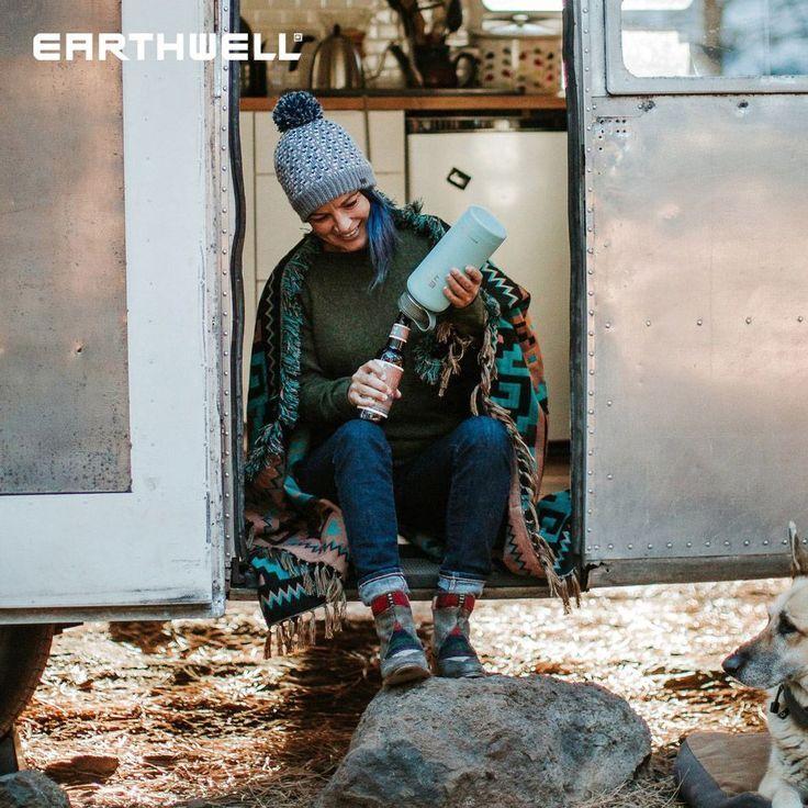 Earthwell Kewler est un flacon isolé durable et sûr à utiliser avec … …   – Holz İdeaa