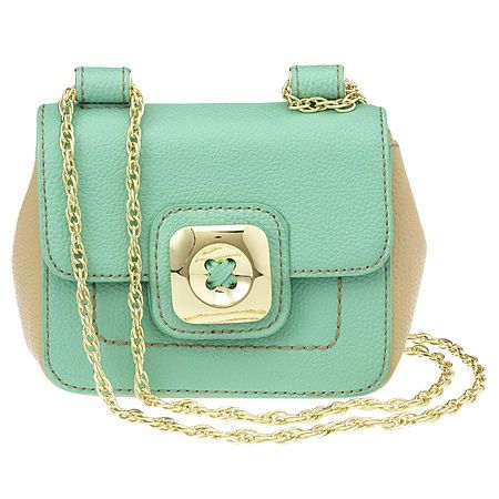 Darling!: Colors Trends, Mint Green, Minis Bags, Crosses Body Bags, Nine West, Pastel Colors, Ninewest, Mint Bag, While