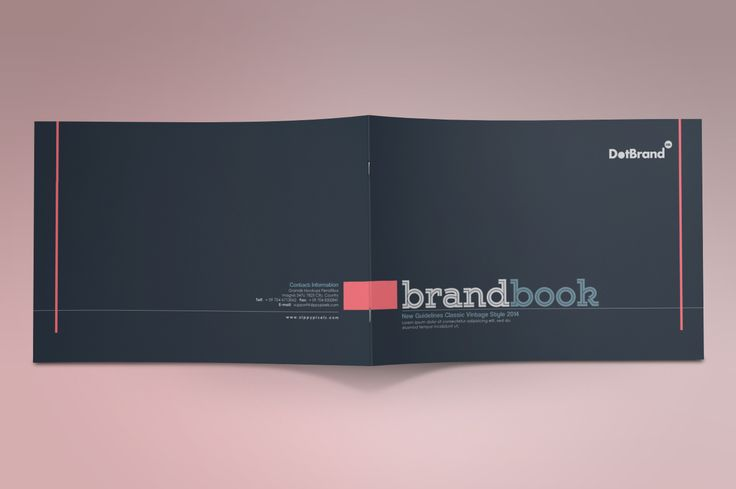 The Classic-Brand Guidelines Templat by ZippyPixels on Creative Market