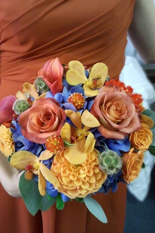 23 Best Images About Flowers On Pinterest Wedding Blue Roses And Tropical Wedding Bouquets