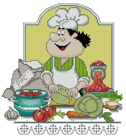 chef cuisinier Más