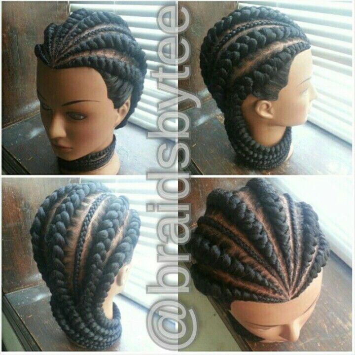 Ghana braids | Braidy Bunch (Locs & Twists ) | Braids ...