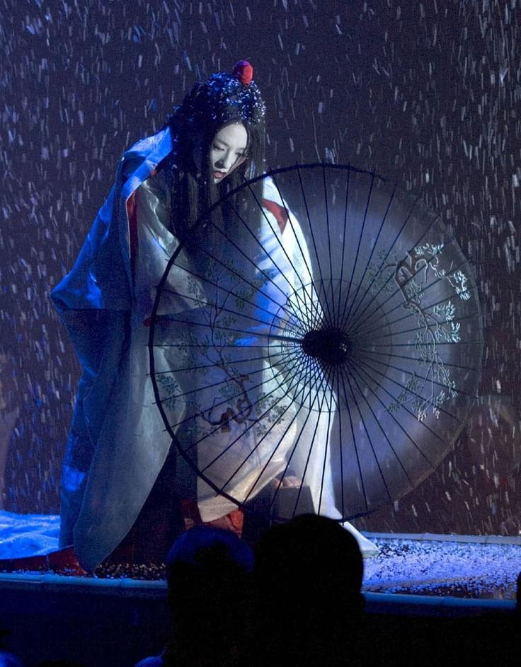 Sayuri (Ziyi Zhang) 'Memoirs of a Geisha' 2005. Costume designed by Colleen Atwood.: