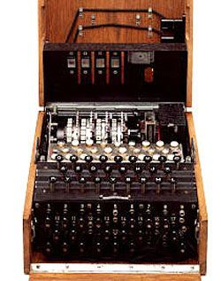 In 1941, British sailors captured an Enigma machine from a disabled German U-110 submarine. The acquisition was kept secret as Allied cryptographers started work on Axis codes.  Read about how the machine works | NOVA