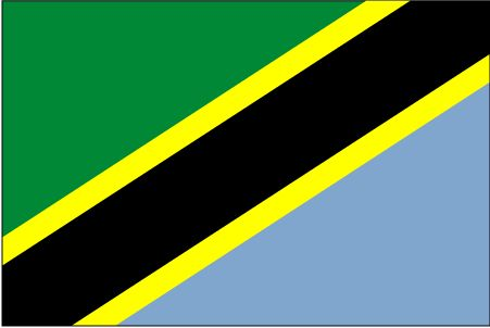 Country Flags: Tanzania Flag
