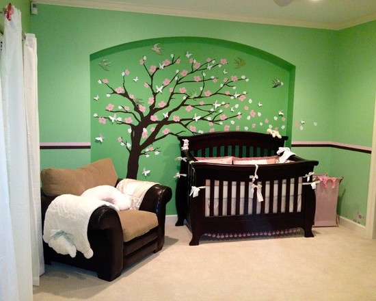 Themes For Baby Girl Nursery Design Pictures Remodel
