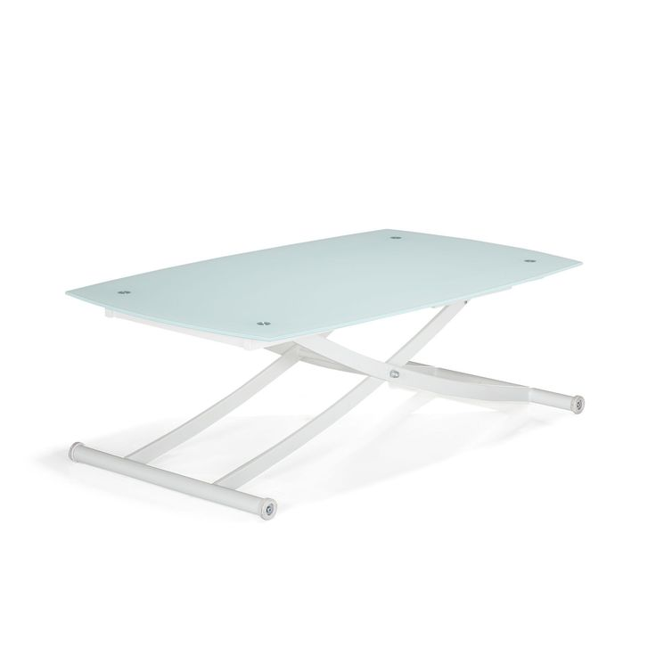 Best 25 table relevable ideas on pinterest table basse - Table basse blanche relevable ...