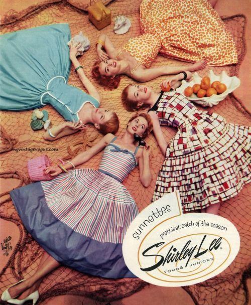 myvintagevogue: Shirley Lee 1956