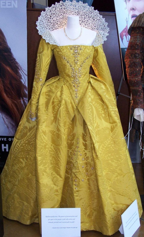 Elizabeth's Yellow Gown.( Elizabeth: The Golden Age, 2007).