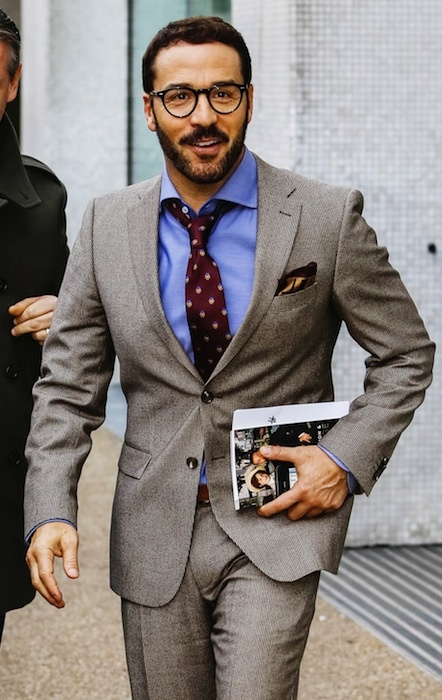 17 best images about men 39 s business professional attire on for What color tie with blue shirt