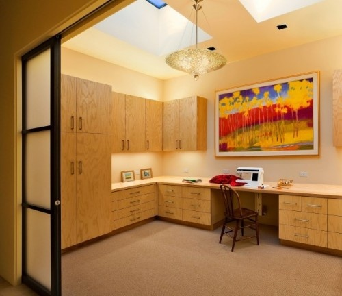 Best Lighting For Home Office: 27 Best Images About Home Office/Craft Room Staging Ideas