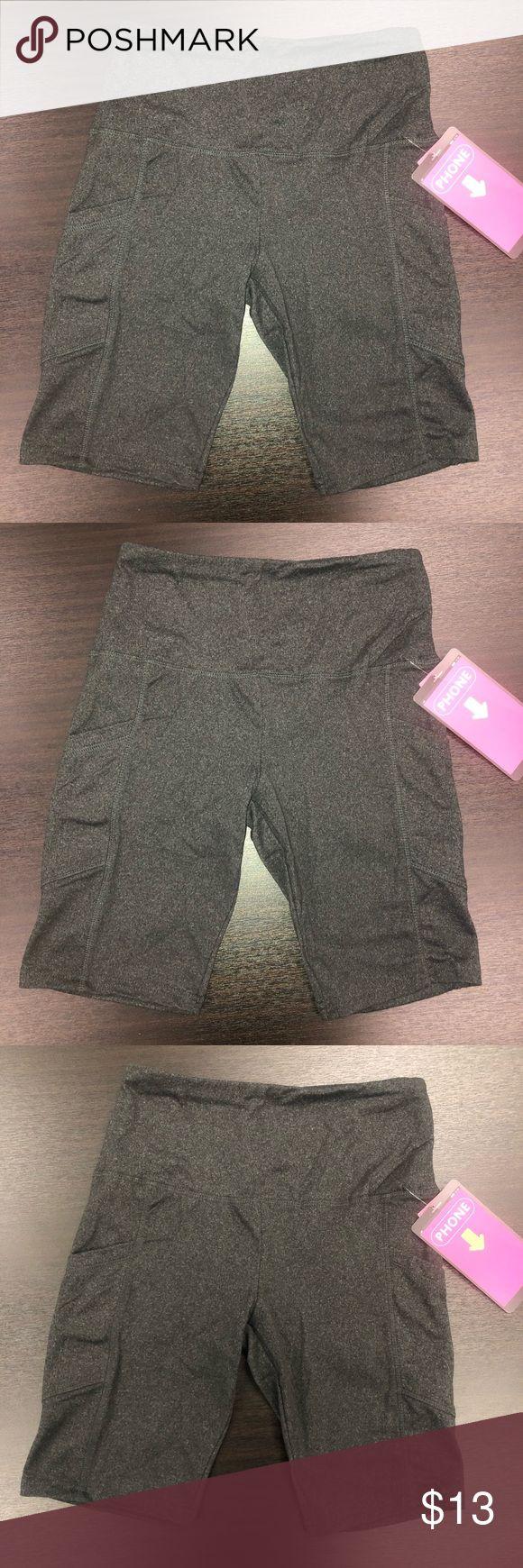 Charcoal High Waisted Biker Shorts 🖤 – high waisted biker shorts – pockets th…   – My Posh Picks
