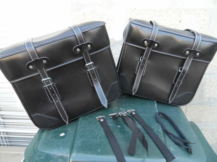 Paire sacoches bags moped mobylette motobecane 88 solex cyclosport peugeot