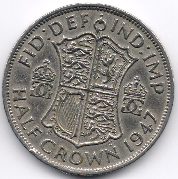 United Kingdom Half Crown 1947