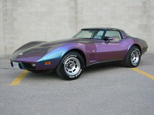 stingray+automobile | 1978 Chevy Corvette Stingray car | Flickr - Photo Sharing! This color is of course not an original, but it's smashing in this color