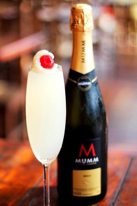 Renê Depoli Bartender: Bellini de Lichia  Espumante Mumm 05 Lichias Tio P...