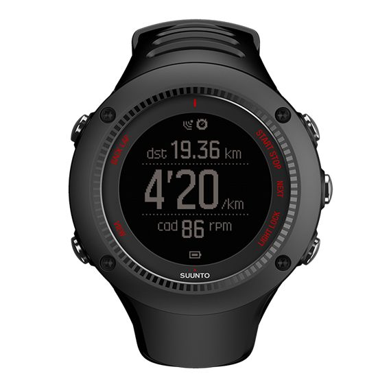 Suunto Ambit3 Run Black - Suunto