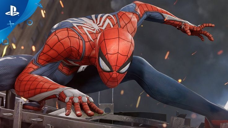 Marvel's Spider-Man (PS4) 2017 E3 Gameplay - YouTube