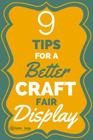 9 Tips for a Better Craft Fair Display