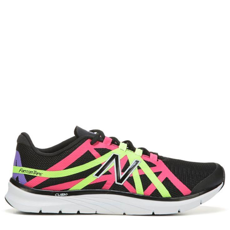 New Balance Women's 811 V2 Medium/Wide High Top Training Shoes (Black/Pink) - 11.0 D
