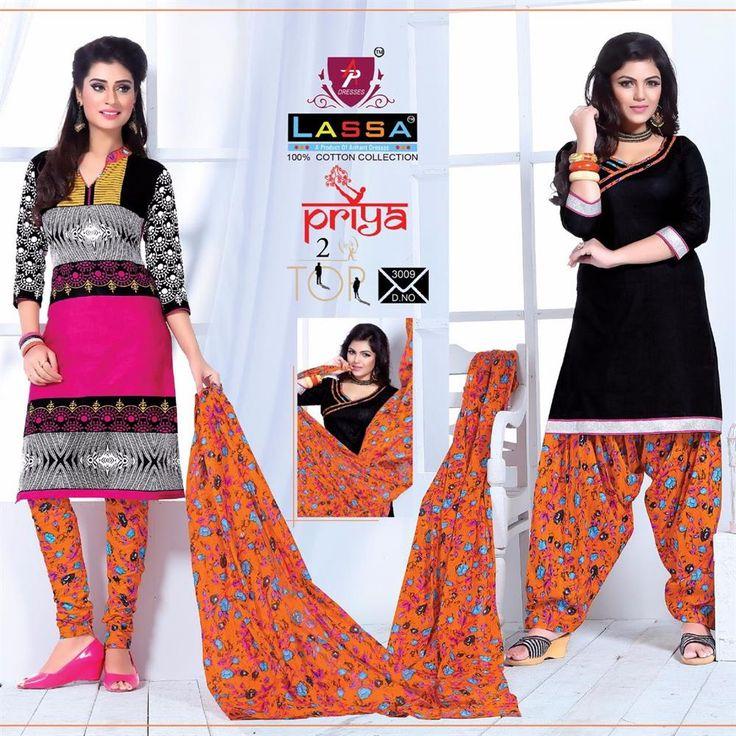 Buy Designer Arihant Lassa priya 2 Tops Concept Dress Material