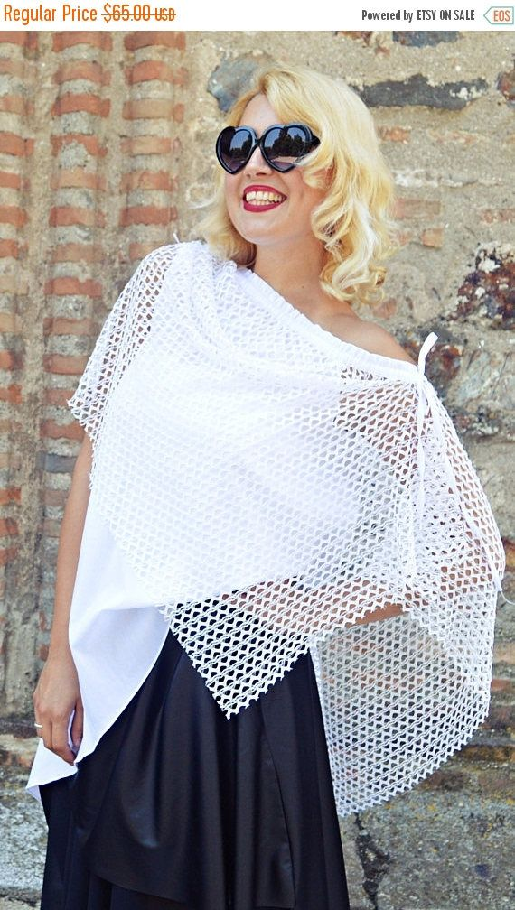 Now selling: SALE 25% OFF White Summer Top, Summer Blouse, Lace and Cotton Summer Blouse, Extravagant White Top TT121, Asymmetrical Blouse Teyxo https://www.etsy.com/listing/527231814/sale-25-off-white-summer-top-summer?utm_campaign=crowdfire&utm_content=crowdfire&utm_medium=social&utm_source=pinterest