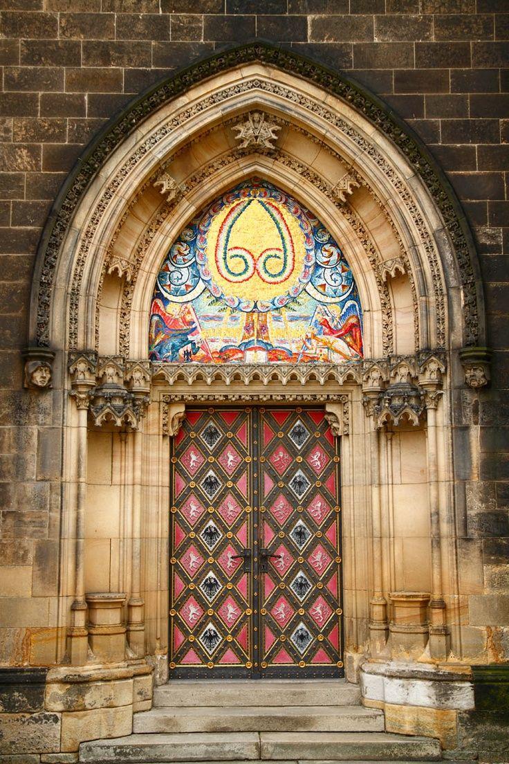 Vyšehrad Castle Door