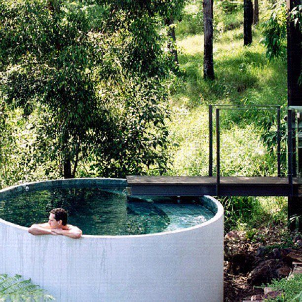 What would you do if you found a pool in the middle of the woods?