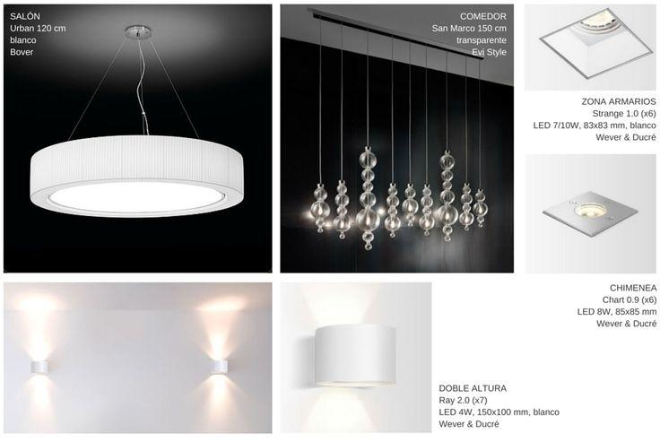 Iluminación para salón
