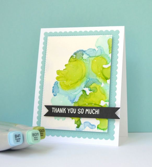 K and R Designs: Copic Refills On White Board Cardstock