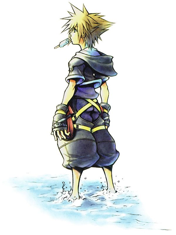 Kingdom Hearts   Square Enix   Disney Interactive Studios / Kingdom Hearts II's Sora