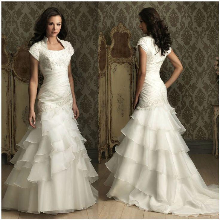 1800s Inspired Wedding Dress