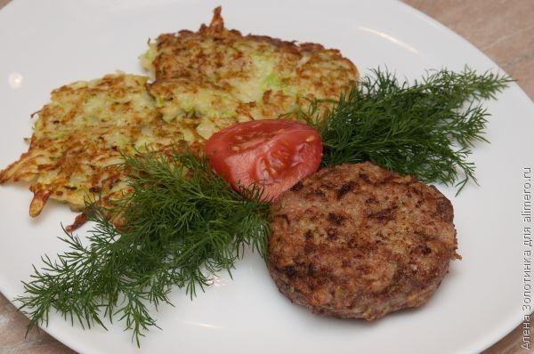 Котлеты мясные с кабачками, рецепты с фото   Национальная ...