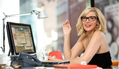 SATC:  Samantha Jones is one cool diva, and her office is also adorned with the best furniture. This Tolomeo Desk Lamp is super chic.