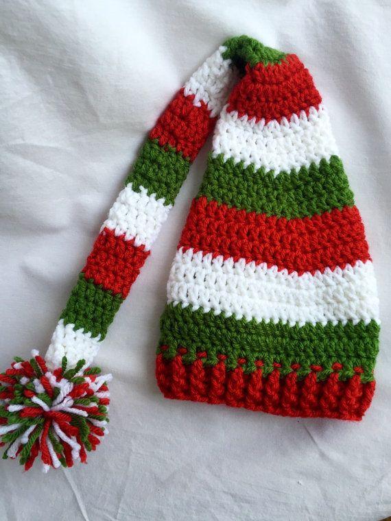 Santa's Little Helper Hat by rasunbaby on Etsy