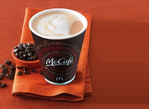 Free Coffee at McDonald's March 31-April 13