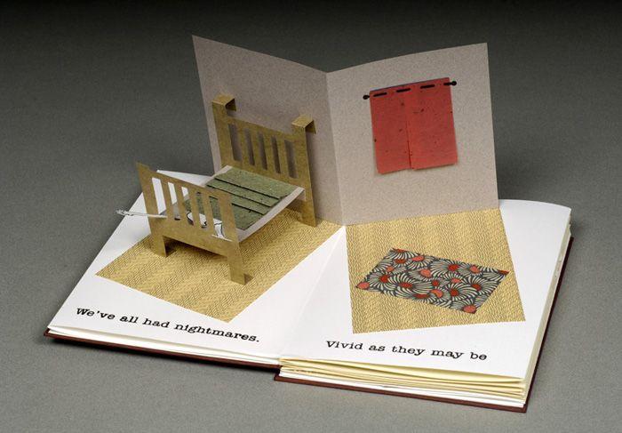 История объемной открытки