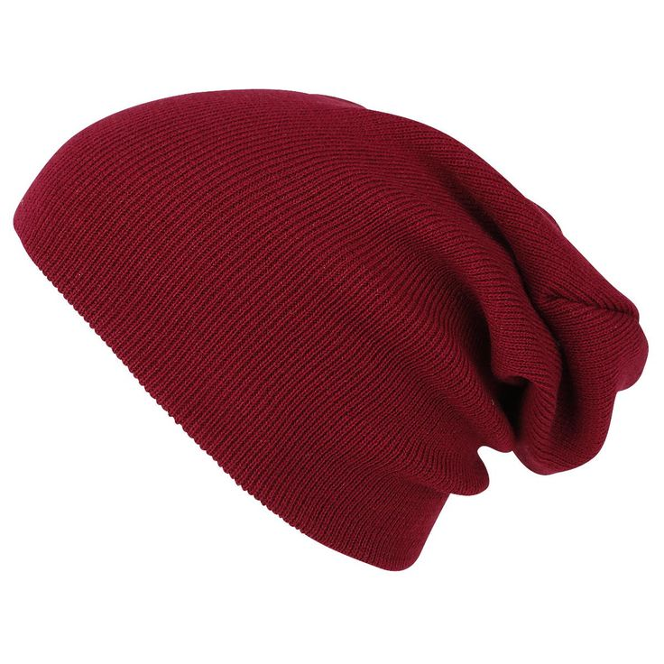 Beanie Basic Flap Long Version Hoed • Large