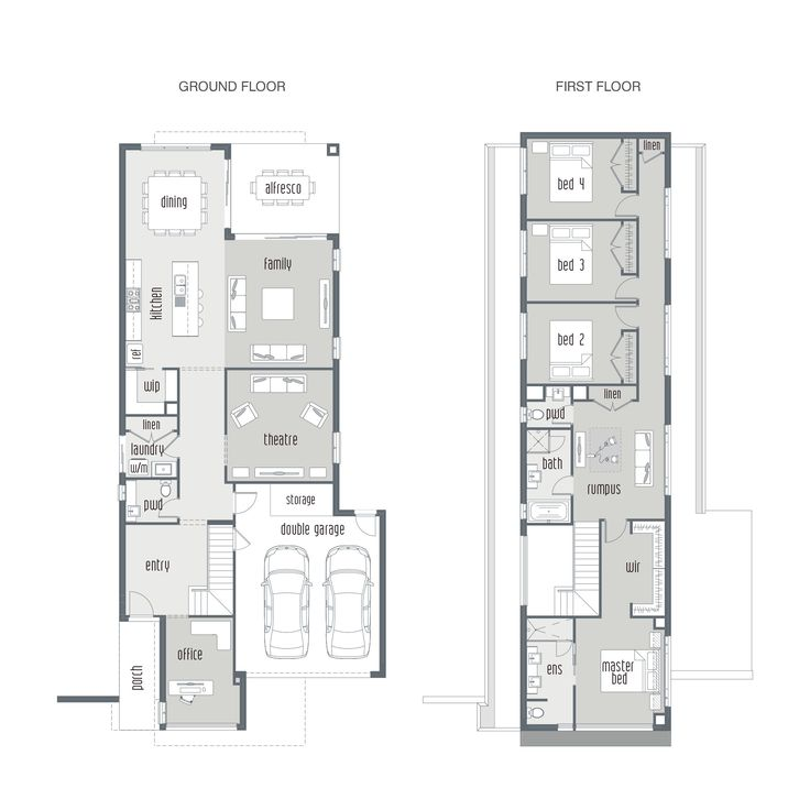 7 best Dual occ images – Townhouse Plans With Double Garage