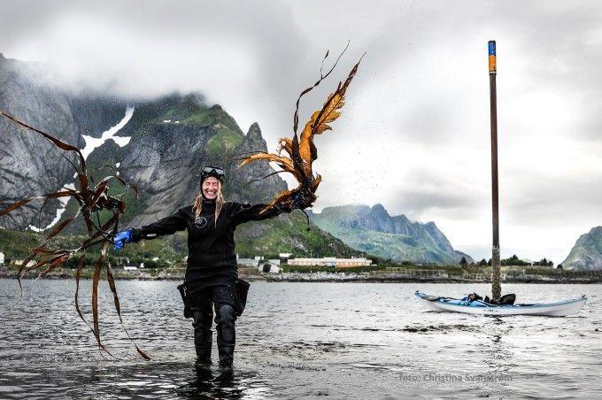 Tanging with Runhild Olsen and Ut i Lofoten at #HattvikaLodge 2016