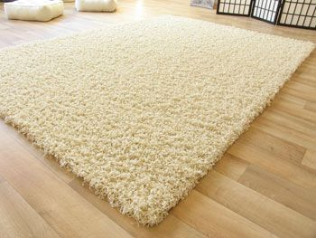 Hochflor Teppich Funny - Shaggy Teppich beige