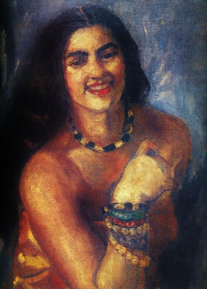 Amrita Sher-Gil - Self portrait -