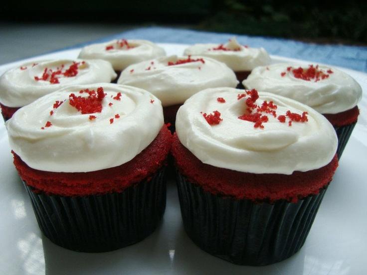 Red Velvet Mini Cupcakes - The Bake Bits