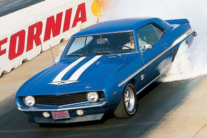 1969 schon kein Schnäppchen, heute unbezahlbar: Chevrolet Camaro Yenko SYC. Unter der Haube bollert ein Siebenliter-V8 mit schlappen 611 PS....