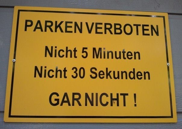 ha ha | Parking is not allowed: neither 5 minutes nor 30 seconds NOT AT ALL | always #fun on #AdlandPro